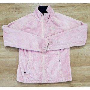 The North Face Womens Pink Fleece Jacket Small